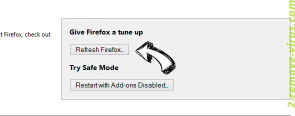 Pup.optional.trovi Firefox reset