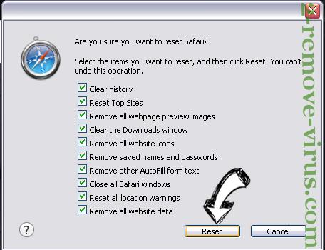 Pup.optional.trovi Safari reset