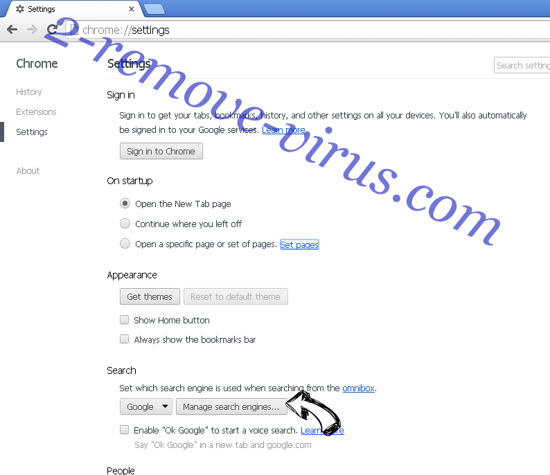 Quick Weather Search redirect Chrome extensions disable