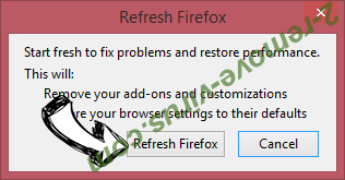 Spaces adware Firefox reset confirm