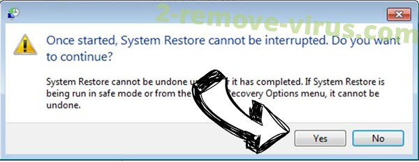 .Berosuce virus removal - restore message