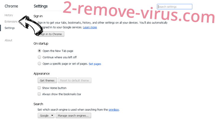 MovieBox Search Redirect Chrome settings