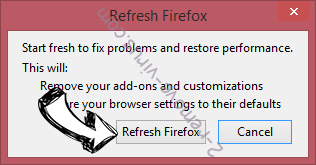 FreeTemplateFinder Toolbar Firefox reset confirm
