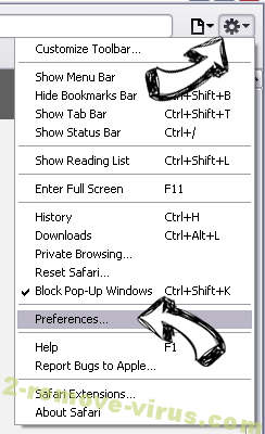 Lorybnfh.com Safari menu