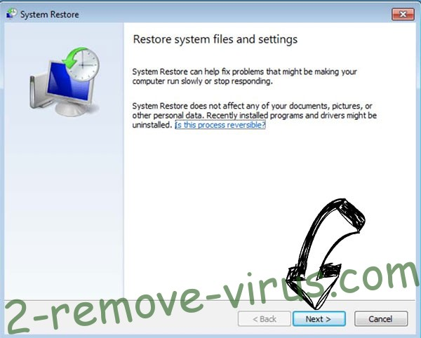 Get rid of .encryptedRSA extension virus - restore init