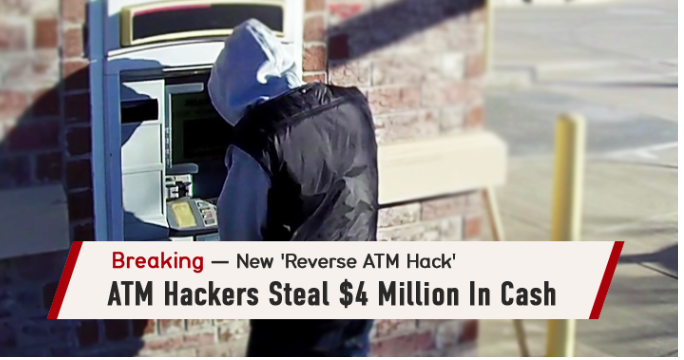breaking News Hackers stole from ATMS