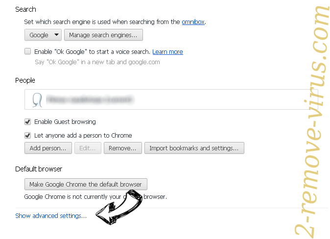 Search.hmylocaltransit.co Chrome settings more