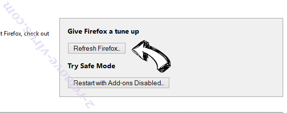 PC Speed Up Firefox reset