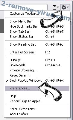 Searchdefenderlive.com Safari menu