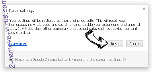 Touchpushthen.info Chrome reset