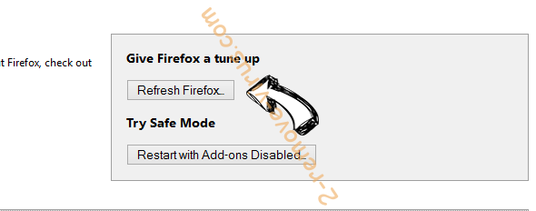 Newstrackr.co Firefox reset