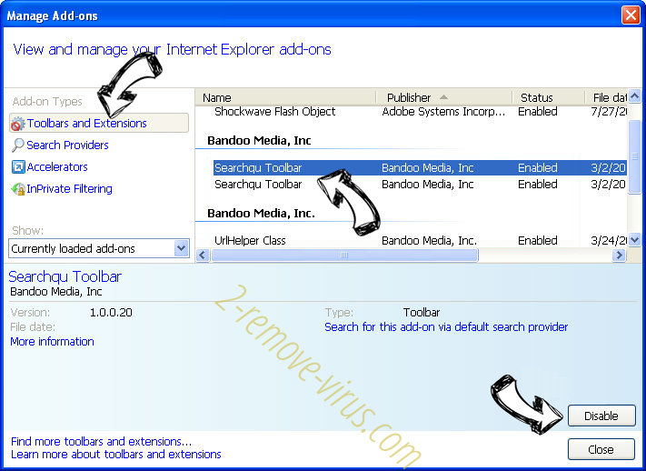 mixSportTV Search Plus IE toolbars and extensions