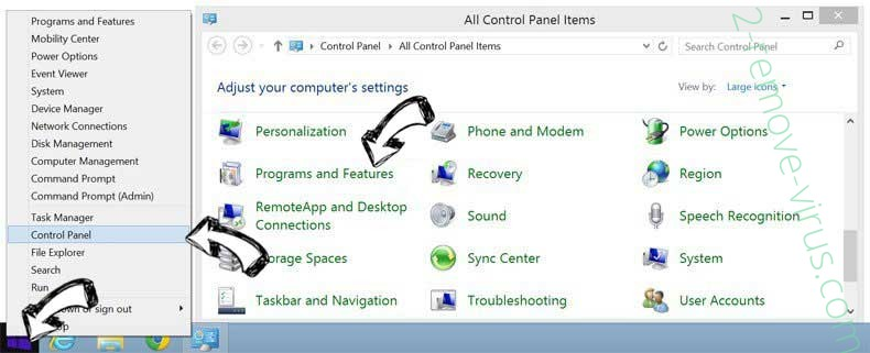 Delete System Care Pro from Windows 8