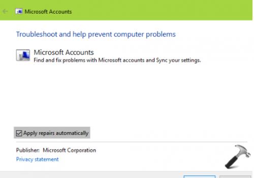 Hur att reparera Microsoft Account