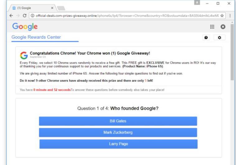 Google Membership Reward Virus