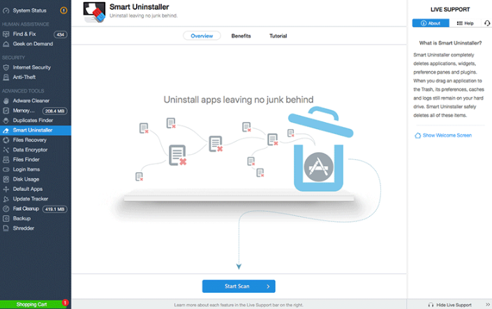 MacKeeper Smart Uninstaller