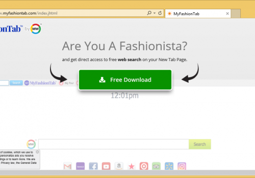 Menghapus MyFashionTab Toolbar