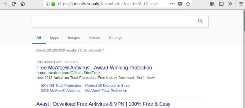 results supply redirect