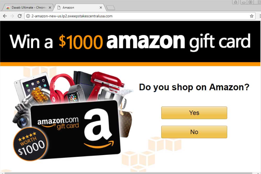 """Win A $1000 Amazon Gift Card"" Scam"