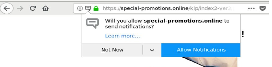 Special-promotions