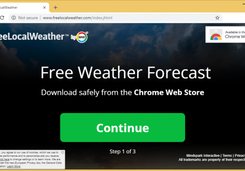 Fjerne FreeLocalWeather Toolbar