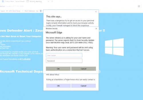 Κατάργηση Microsoft Edge virus