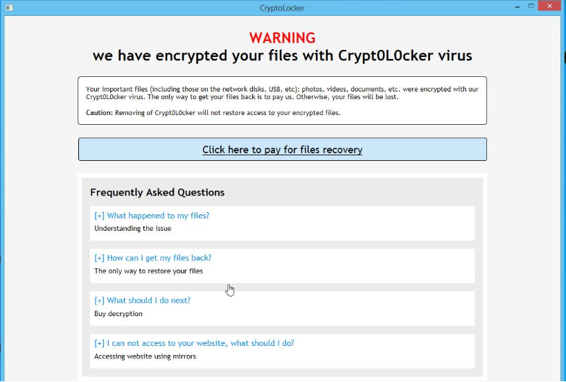 Remove ransomware and recover your files 1