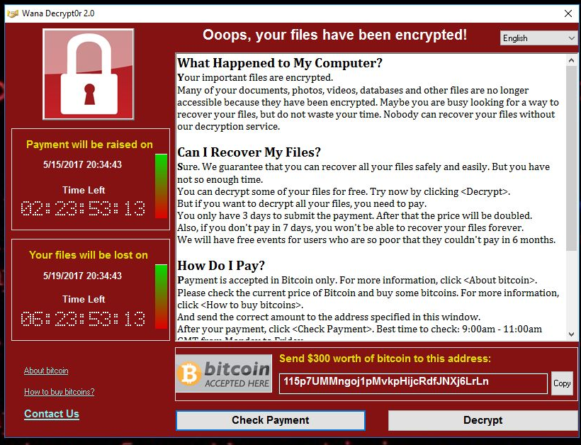 Remove ransomware and recover your files 2