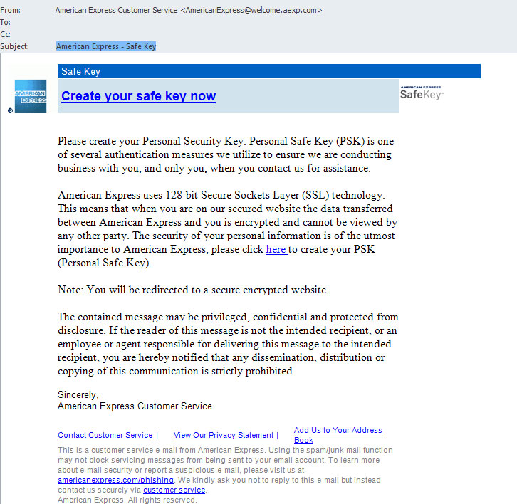 AMEX-Email-Scam