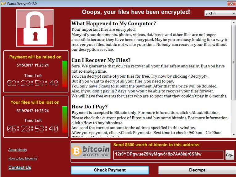 Korea Ransomware