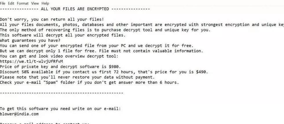 Kropun ransomware