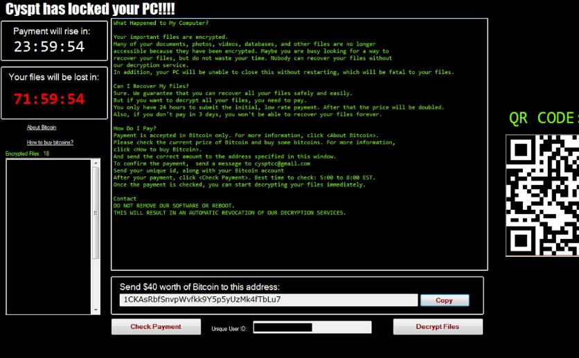 MTP Ransomware