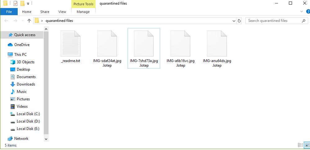Lotep ransomware