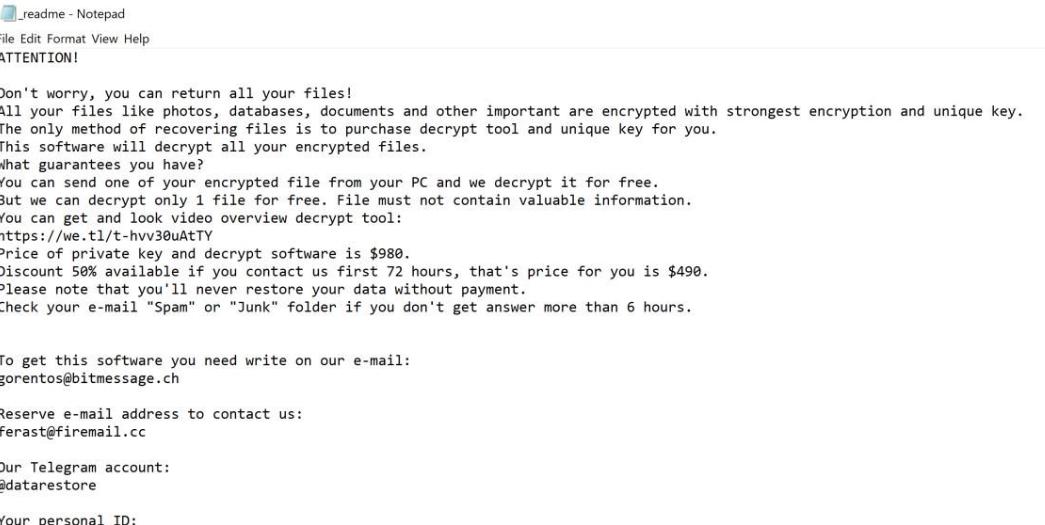 NUSAR ransomware