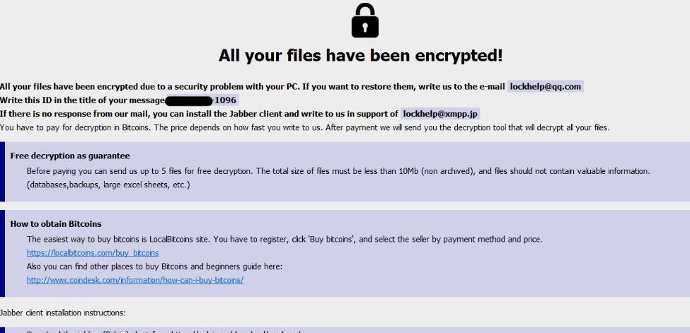 Acute ransomware