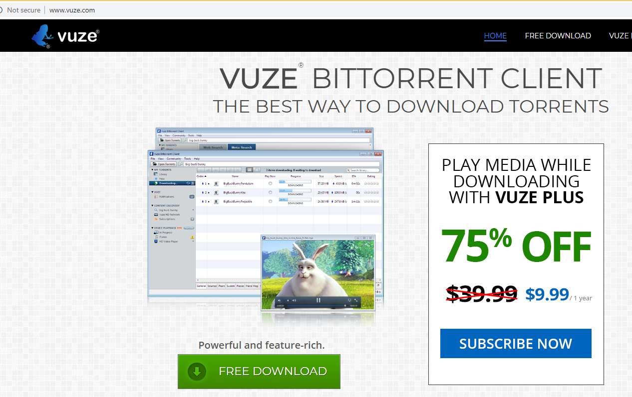 Vuze Toolbar