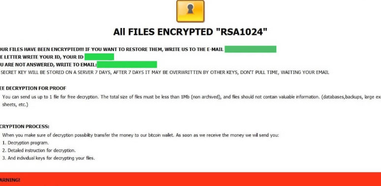 CASH ransomware