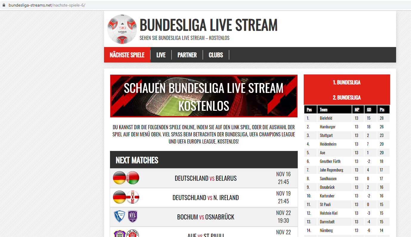 Bundesliga Streams Net