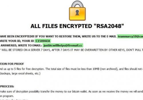 Menghapus Kharma ransomware