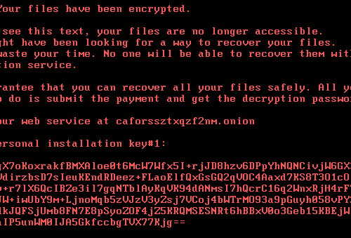Fjerne .Lokf extension ransomware