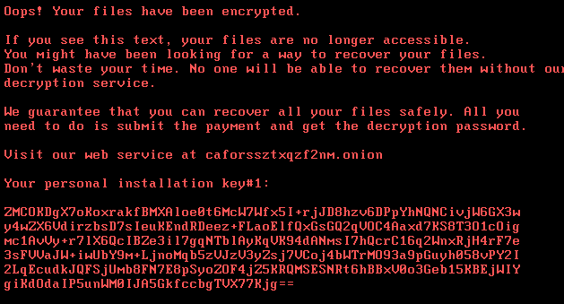 Lokf extension ransomware