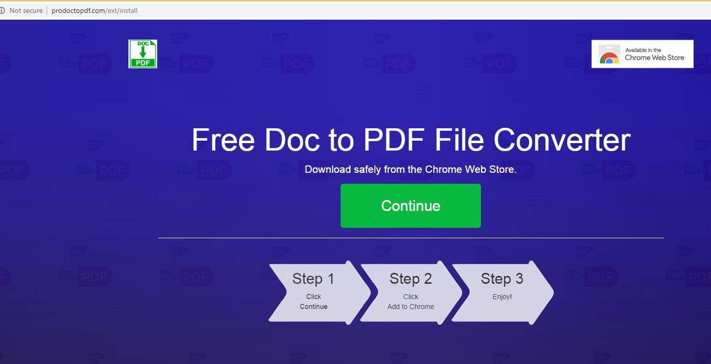 Remover ProDocToPdf