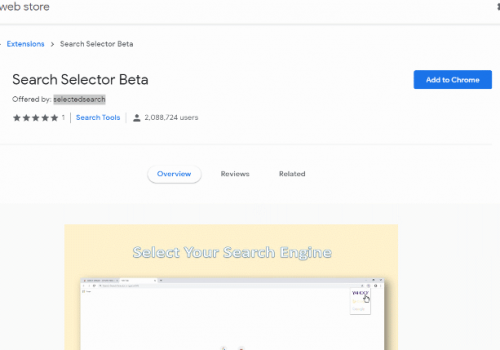 Remove Search Selector Beta Search
