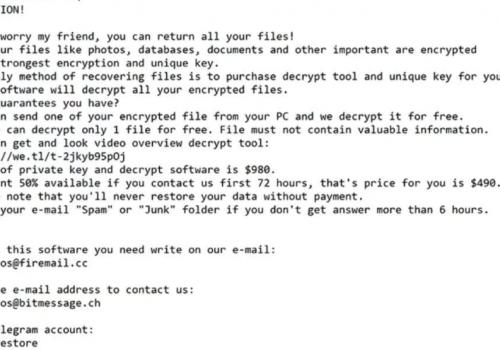 Remove .Snatch file ransomware