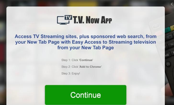 Menghapus Tvnowapp.net