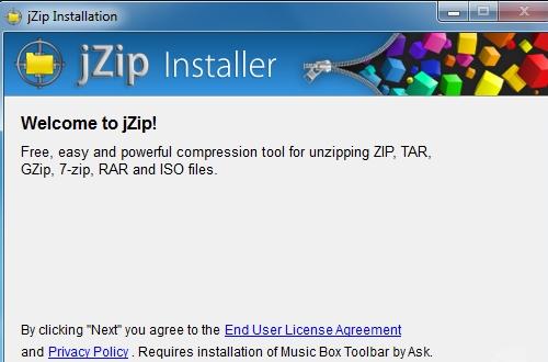 Cara menghapus jZip by Bandoo