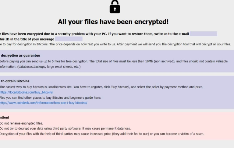 ACTOR file ransomware