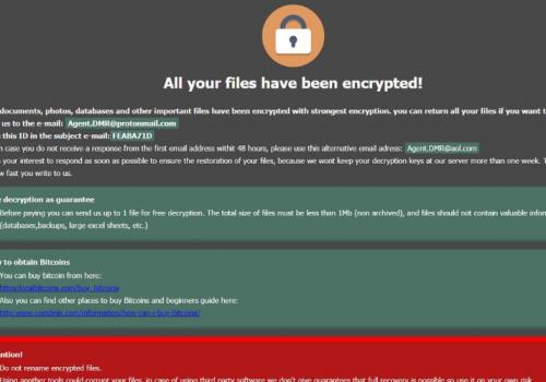 Fjerne .DMR64 file ransomware