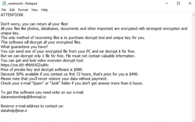 Hets file ransomware