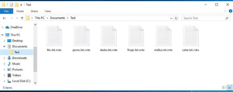 MZRevenge ransomware Enlèvement